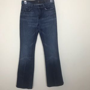 7 For All Mankind- High Waist Bootcut size 24